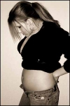 Фото животиков на 20 неделе беременности